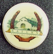 Saturn Cars Welcome Center Pin Pinback - $5.95