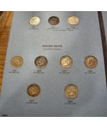 Whitman Folder 49 Indian Head Cents High Grade + 3 Flying Eagles - $3,399.00