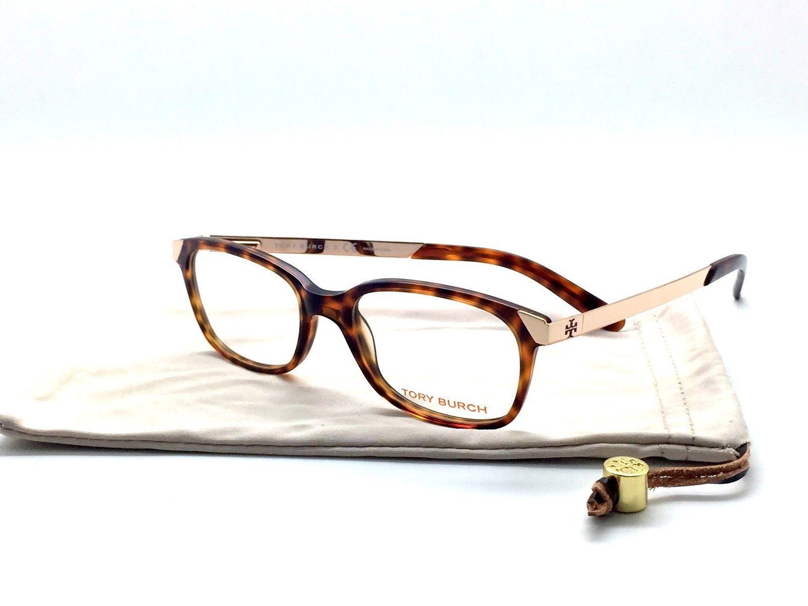17a0b5af4b2a TORY BURCH Women's Blonde Tortoise 50mm Eyeglass Frames TY2006 838 - $68.53