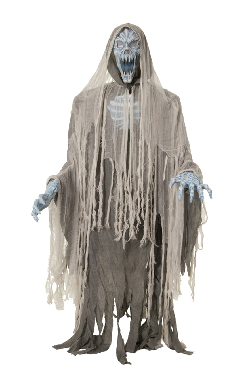 Life Size Deluxe LED Animated EVIL ENTITY GHOST REAPER ZOMBIE Haunted House Prop