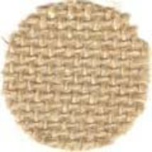 Natural 12ct Jute 36x24 cross stitch fabric Wichelt  - $9.90