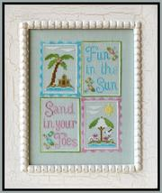 Fun In The Sun cross stitch chart Country Cottage Needleworks - $7.20