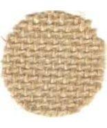 Natural 12ct Jute 18x24 cross stitch fabric Wichelt  - $5.50