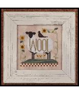 Louise and Henry sheep crow cross stitch chart Little House Needleworks - $5.40