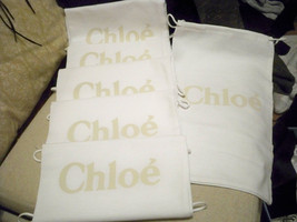New Lot of 6 Chloe Sleeper/ Dust Bags / Protective Cover 8 inch width x1... - $556,49 MXN