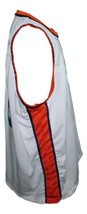 Hoop Dreams Movie Curtis Gates Colby Basketball Jersey Sewn White Any Size image 4