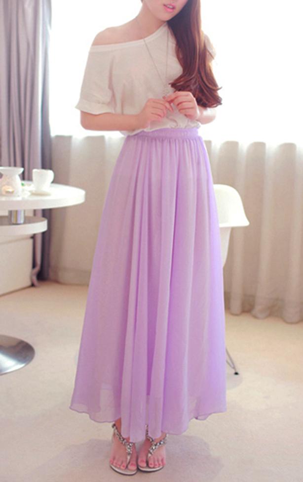 Free shipping and returns on Women's Chiffon Skirts at bierek.tk