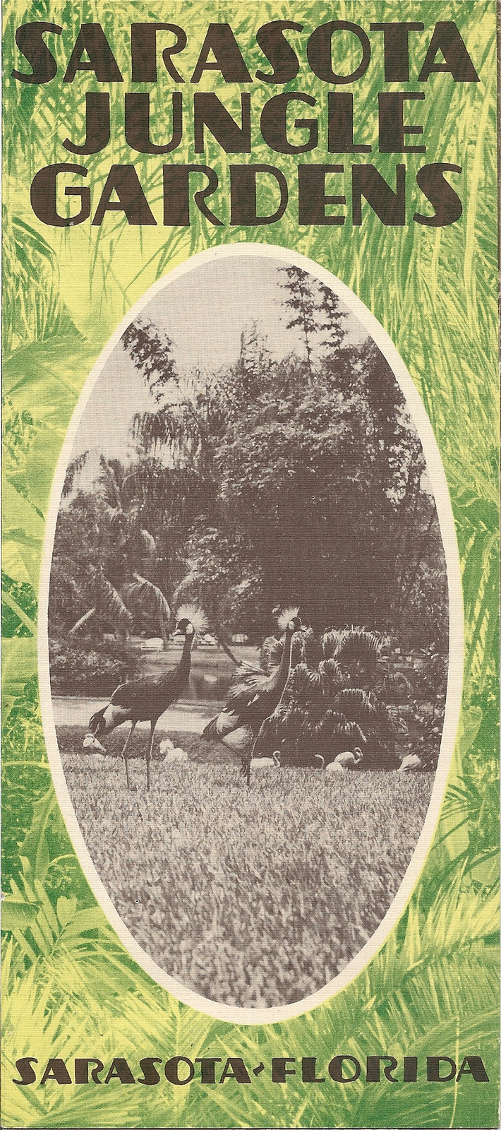 Sarasota Jungle Gardens Brochure Florida