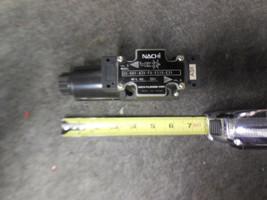 NACHI SS-G01-A3X-FR-E115-E31 Directional Control Valve image 1