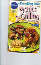 Pillsbury Cookbook Picnics Grilling BBQ Recipe 1997 VTG - $5.93