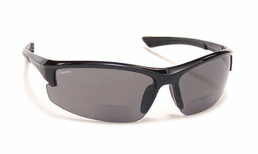 Primary image for New Coyote BP-7 Polarized BIFOCAL Reader Sunglasses 2.00 Black