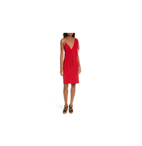 Diane von Furstenberg Ruffle Front Lace Dress Red Size 2 NWT $ 468 - $277.20