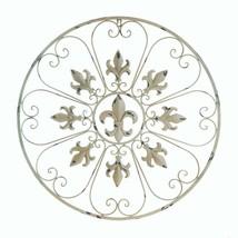 Circular Fleur De Lis Wall Decor - $71.04