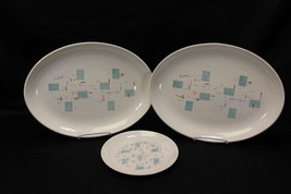 Vernonware Heavenly Days Platters and Salad Plate Lot of 3 - $45.07