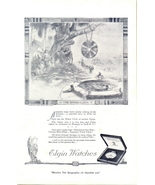 1922 Elgin Watches Egyptian Water Clock poems print ad - $10.00