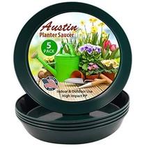 AS21 (19 inch Base Dia) Case of 5 Austin Planter Hunter Green Polypropylene for  - $50.11