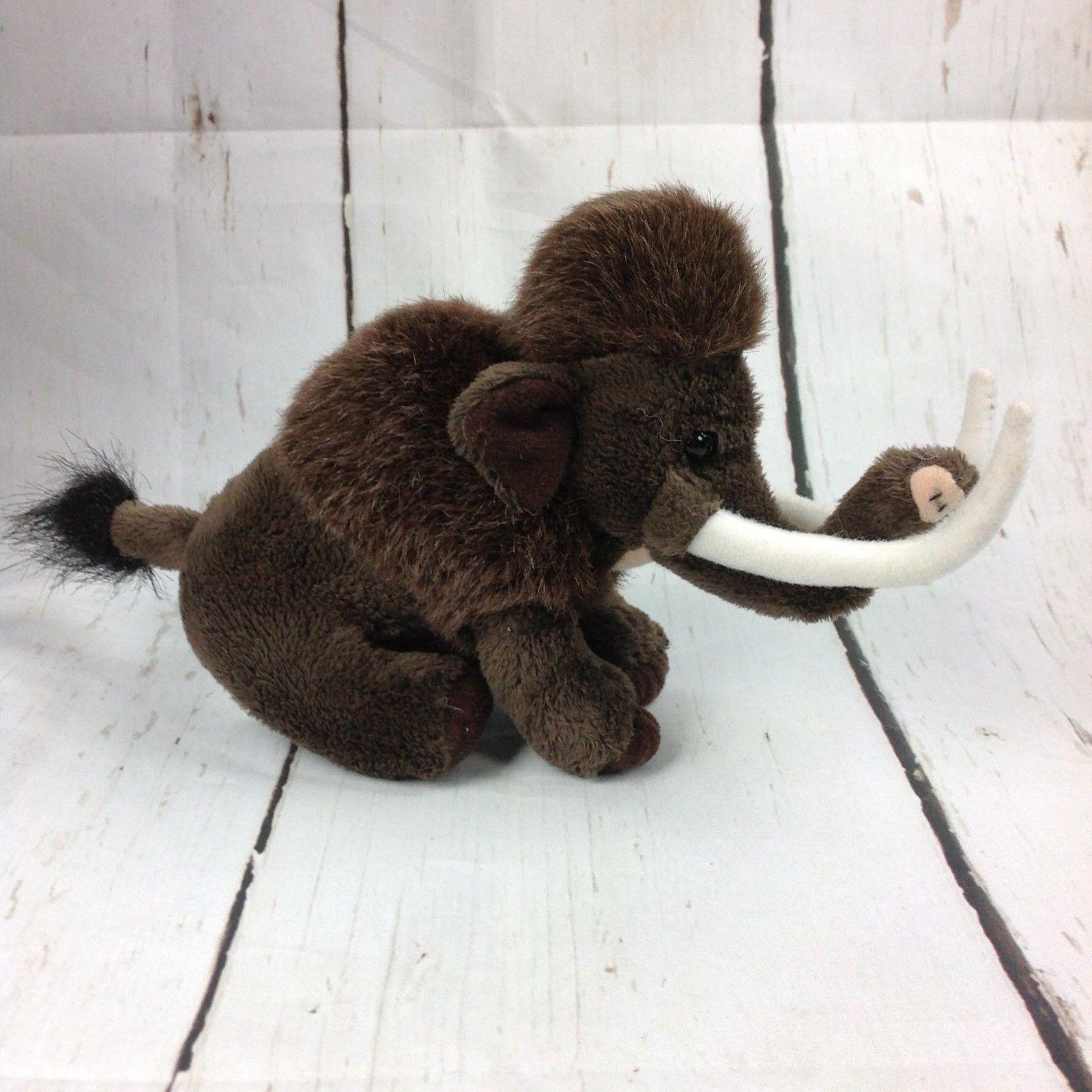 88a75942b3e S l1600. S l1600. Previous. Wild Republic Lil  Cuddlekins Brown Woolly  Mammoth Plush Prehistoric Small