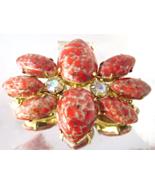 Vintage Juliana Delizza & Elster Coral Easter E... - $29.00