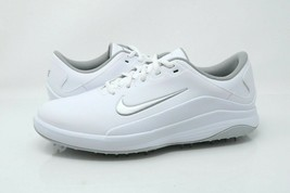 Nike Vapor Golf Shoes Womens Size 9.5 W Soft Spike White / Gray AQ2323-100 - $51.99