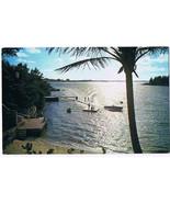 Bermuda Postcard Paget Water Skiing Free Shipping - $5.93