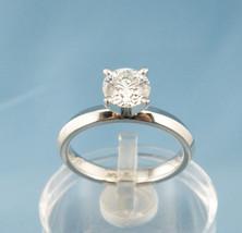 GIA 1.09CT VS2/H Round Brilliant Cut Diamond Engagement Ring,Plat DIA-1017 - £7,328.60 GBP
