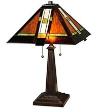 "Meyda Tiffany 132673 Montana Mission Table Lamp, 24"" High - $302.40"