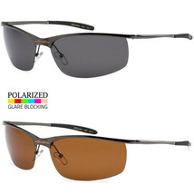 Mens Wrap Sport Polarized Sunglasses Cycling Driving Outdoor Fishing Running - $9.89+