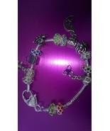 8.5 European Charm Bracelet Full of Charm Beads! Great Price! - $25.00