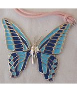 Turquoise butterfly pendant  A - $40.00
