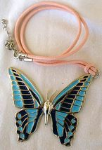 Turquoise butterfly pendant   a a thumb200