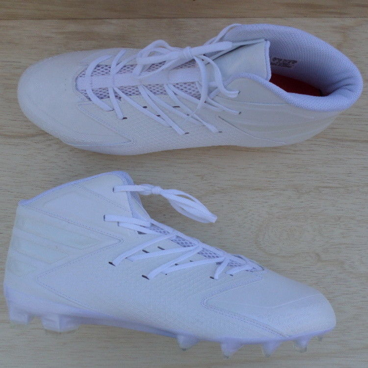 3b4969486 NEW Adidas Freak X Carbon Football Cleats Size 16 White AQ8771 NWOB