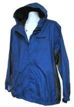 TIMBERLAND MEN'S TRUE BLUE WATERPROOF HOODED JACKET Size 2XL, #58U5092 - $50.39