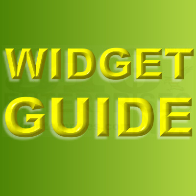 Bonanzle Widgets Visual Guide