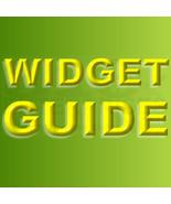 Bonanzle Widgets Visual Guide - $0.00
