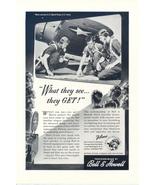 1946 Bell & Howell Filmo camera equipment airman print ad - $10.00