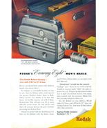 1948 Kodak Economy Eight Reliant Movie Camera print ad - $10.00