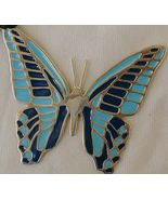 Turquoise butterfly pendant B - $40.00