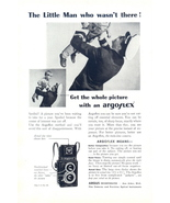 1945 Argus Argoflex Twin-Lens Camera dad & son print ad - $10.00