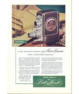 1947 Bell & Howell FILMO Auto-8 Movie Camera print ad - $10.00