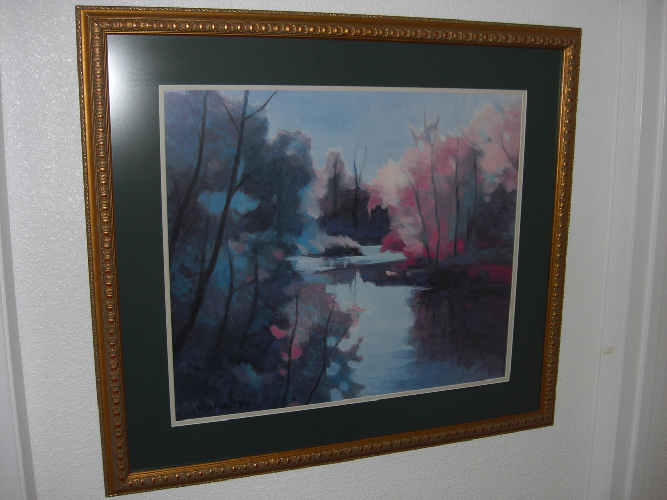 MAGIC AFTERNOON Signed-Framed Print by Tadashi Asoma Art