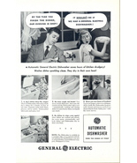 1948 GE Automatic Dishwasher couple dialogue print ad - $10.00