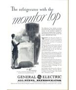 1931 GE Monitor Top Refrigerator 4th Birthday print ad - $10.00