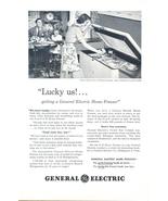 1948 GE 8-cu-ft G-E Home Freezer Refrigerator print ad - $10.00