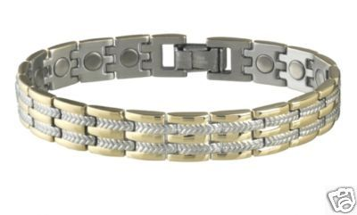 Sabona 326 Executive Regal Duet Magnetic Bracelet