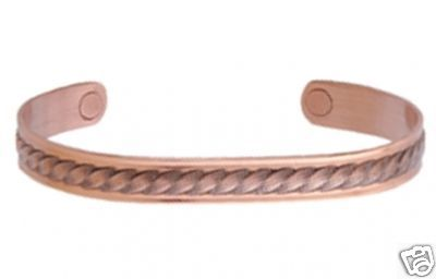Sabona 536 Copper Rope Magnetic Wristband Bracelet NEW!