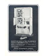 1927 Seeger Cabinet Chiltray vintage Refrigerator print ad - $10.00