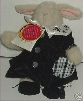 MUFFY Plush HOPPY Vanderhare PORTRAIT IN BLACK & WHITE