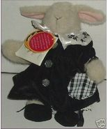 MUFFY Plush HOPPY Vanderhare PORTRAIT IN BLACK & WHITE - $39.99