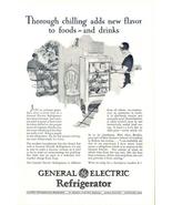 1930 GE General Electric vintage Refrigerator print ad - $10.00