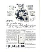 1929 Frigidaire Cold Control vintage Refrigerator print ad - $10.00